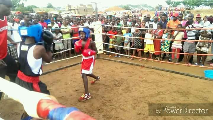 Boxing talent Hadija